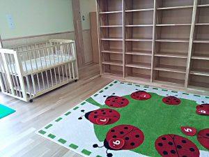 赤ちゃんが使うお部屋は、床暖房。